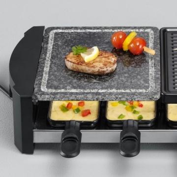 Severin RG 2683 Raclette-Grill und Raclette mit Naturgrillstein - Bild Vorteile und Nachteile.