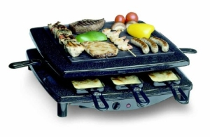 Der Steba RC 3 PLUS Raclette und Raclette-Grill - Bild 2.