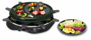 Der Tefal RE 5160 Raclette Simply Invents 8 - Bild mit Vorteilen und Nachteilen.