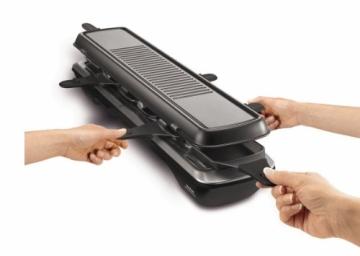 Der Tefal RE 5228 Raclette-Grill und Raclette Line 6 inox Design 1500 Watt kaufen - Ratgeber - Bild 2.