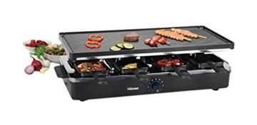 Der Tristar RA-2995 Raclette-Grill und Raclette im Bild mit Bewertungen.