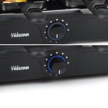 Der Tristar RA-2995 Raclette-Grill und Raclette im Bild 3.