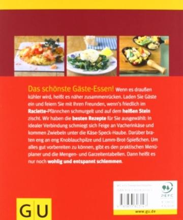 Das Raclette-Rezepte Buch Raclette. Leckere Raclette-Ideen und Rezepte - 2.