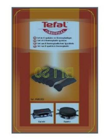 Die Tefal XA9000203 Raclette-Schaber. Sechs Schaber aus Thermoplastik - Bild 2.